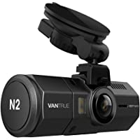 Vantrue N2 1080p Front and Rear Dual Lens Near-360-Degree Wide Angle Dashboard Camera Car DVR Video Recorder