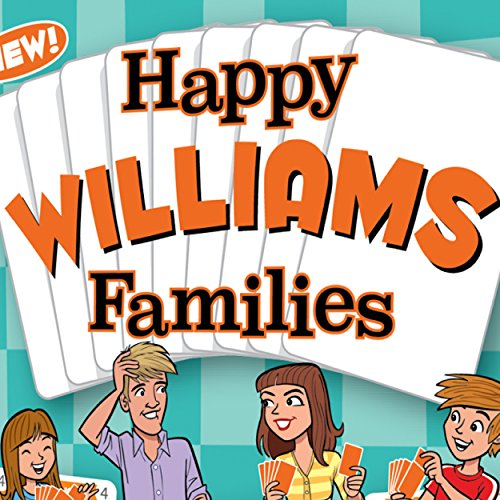 HAPPY WILLIAMS FAMILIES - the new Happy Families card game for people with the last name Williams. Novelty stocknig...