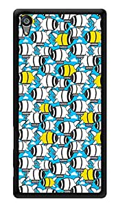 """Humor Gang Cute Submarine Printed Designer Mobile Back Cover For """"Sony Xperia Z5"""" (3D, Glossy, Premium Quality Snap On Case)"""