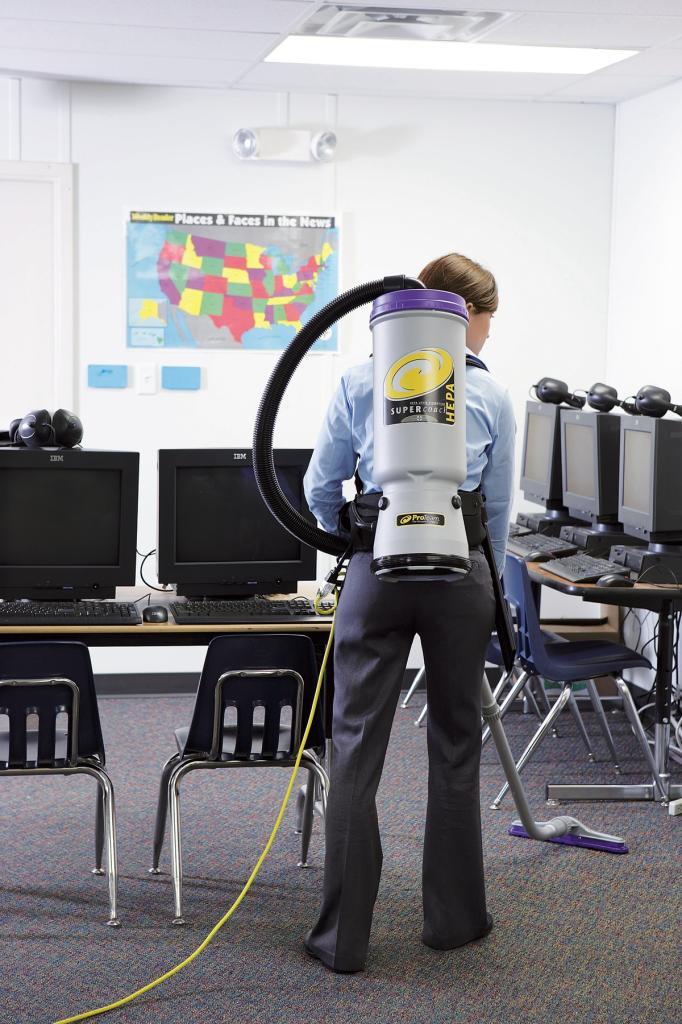 ProTeam Super CoachVac HEPA Backpack Vacuum