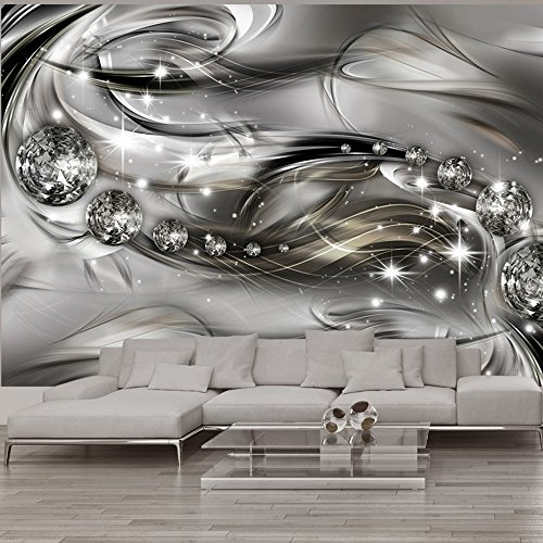 wallpaper-400x280-cm-non-woven-3-colours-to-choose-murals-wall-mural-photo-modern-diamond-crystal-ab