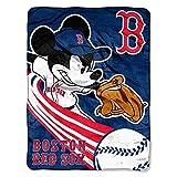 BOSTON RED SOX MLB MICKEY MICRO RASCHEL (46IN X 60IN)