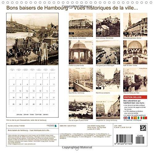 Bons baisers de Hambourg : vues historiques de la ville : Hambourg : tradition et histoire de la ville (Calvendo Places)