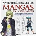 Apprendre � dessiner les mangas en 24 r�alisations