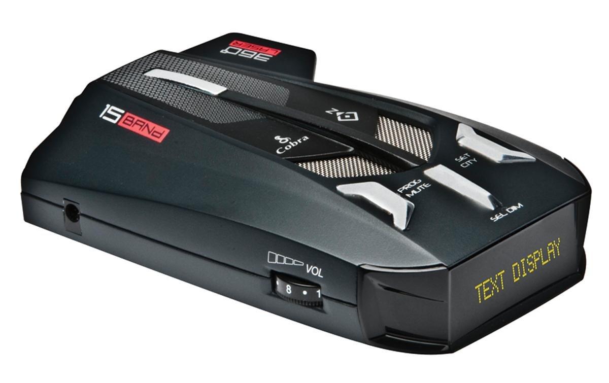 Cobra XRS9770 Voice Alert 15 Band Radar/Laser Detector