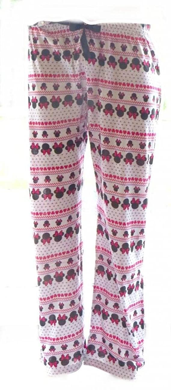 Disney Minnie Mouse Ladies Lounge Pants Size 10-16 Available