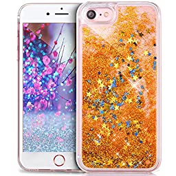 iPhone 6S Plus Case,iPhone 6 Plus Case,iPhone 6S/6 Plus [Liquid Glitter] Case,ikasus Funny Liquid Quicksand Floating Bling Glitter Sparkle Moving Flowing Liquid Case for iPhone 6S/6 Plus 5.5\