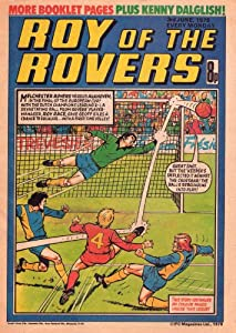 Roy of the rovers Comic 3rd June 1978 03/06/78 poster Kenny Dalglish Poster