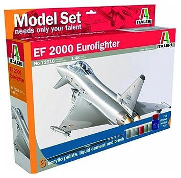 Italeri - I72610 - Maquette - Aviation - EF-2000 Eurofighter - Echelle 1:48