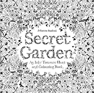 Secret Garden: An Inky Treasure Hunt and Coloring Book from Laurence King Publishing