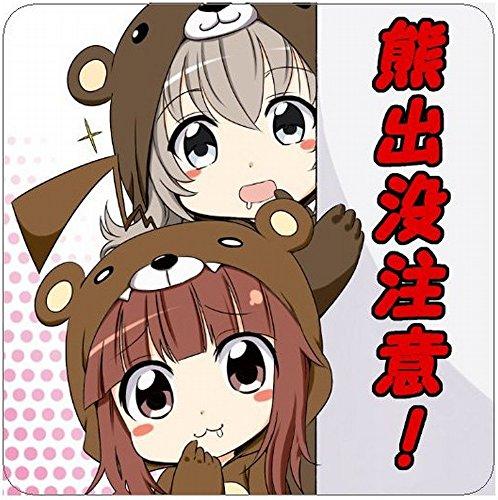 艦隊これくしょん 艦これ 球磨&熊野の「クマ出没注意!」ステッカー【屋外使用可能】