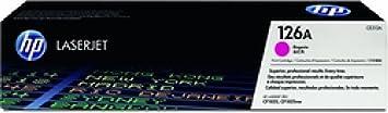 Cartridge 126A magenta toner pour laserJet pro, pro cP1025 cP1025nw