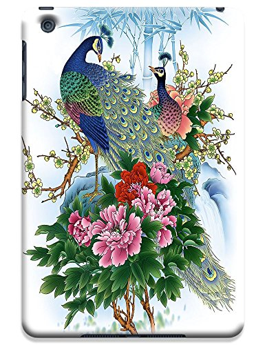 Fantastic Faye Cell Phone Cases For Ipad Mini No.19 The Beautiful Design With Various Lovely Peacock And Paintings Of Proud As A Peacock