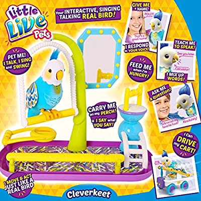 Little Live Pets Clever Keet Bird
