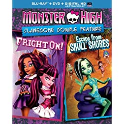 Monster High: Clawesome Double Feature (Blu-ray + DVD + DIGITAL HD with UltraViolet)