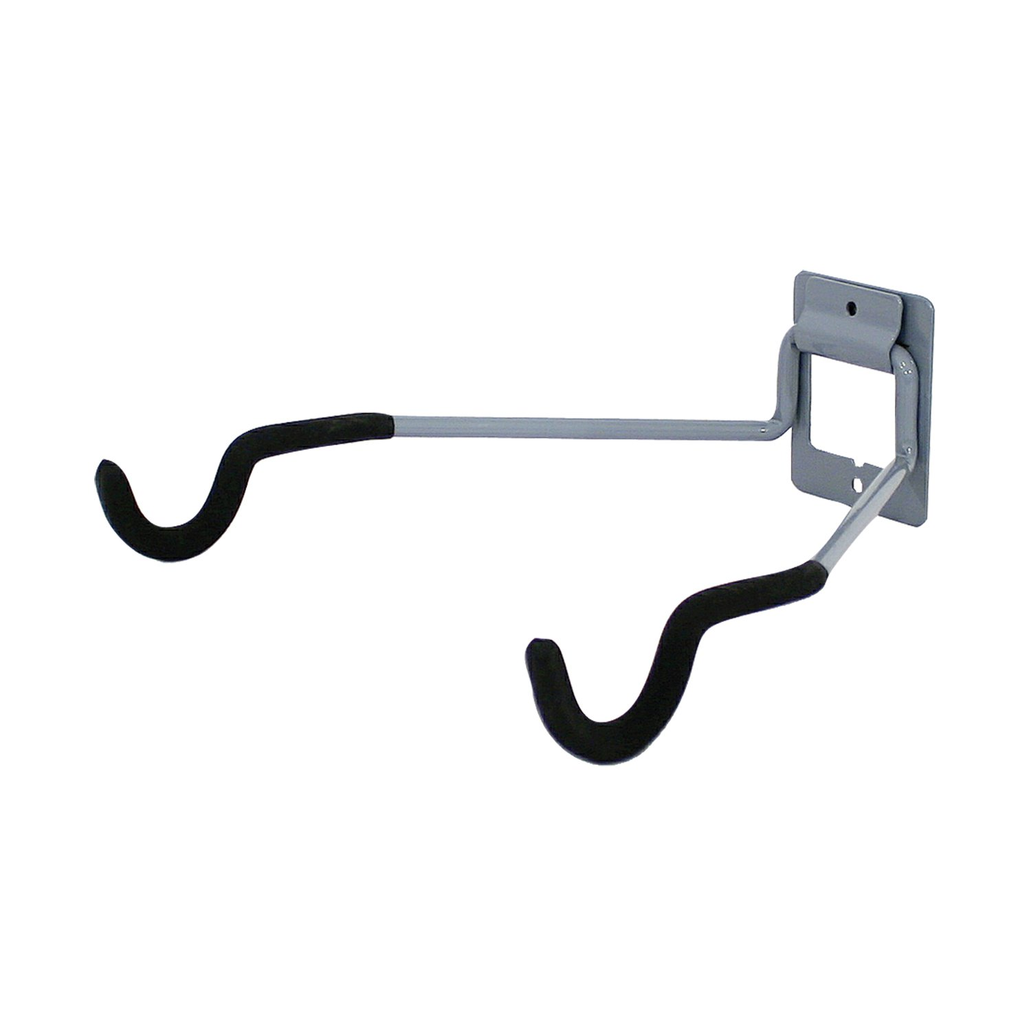 Wall hung flip up bike bicycle storage hook hanger rack Hooks for the wall