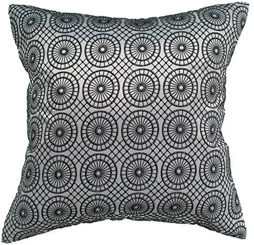 Avarada Circular Twinkle Checkered Throw Pillow Cover