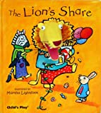 The Lions Share [With Finger Puppet] (Activity Books) (Finger Puppet Books)