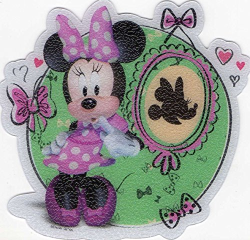 "Disney Minnie Mouse 5 Non-slip Tub Treads Approx 4"" X 4"" (Minnie Mouse, Daisy Duck) - 1"