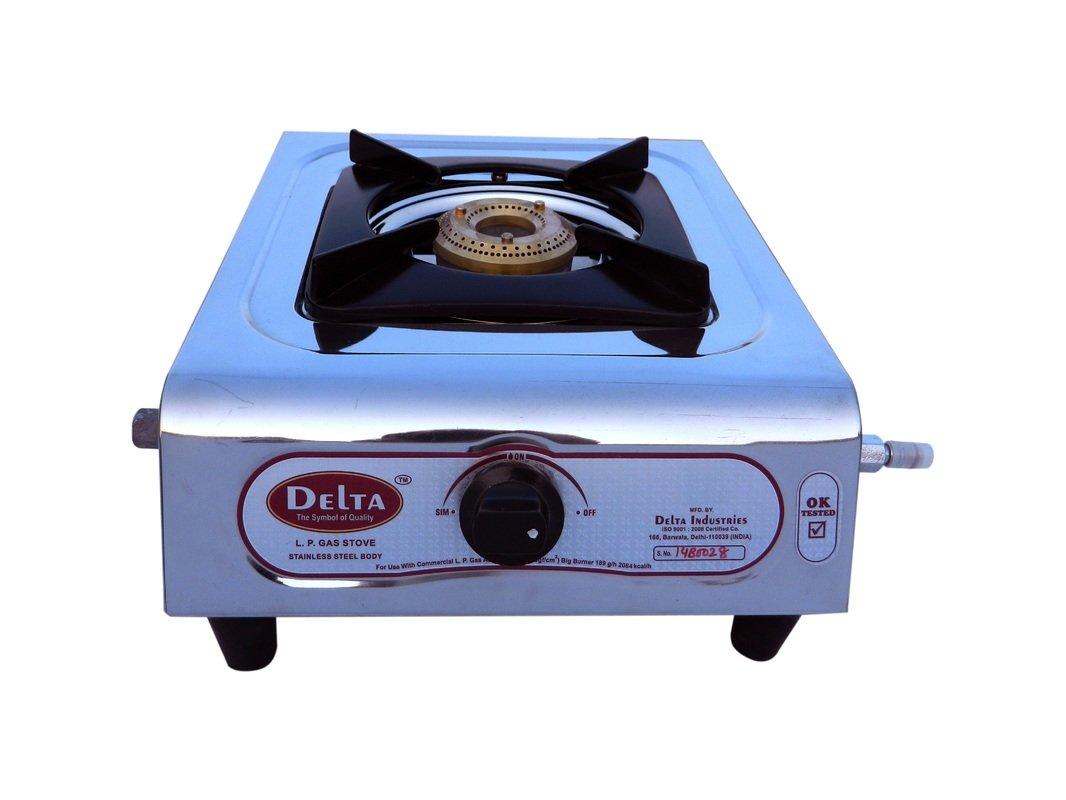 Delta 5156 SS Single Burner Gas Stove