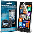 Smart Glaze� Crystal Clear Premium LCD Screen Protectors With Polishing Cloth & Application Card For Nokia Lumia 930 Pack Of 3