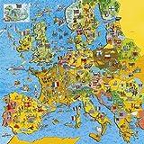 Gibsons - Puzzle - 200 Pièces  - Carte de l'Europe