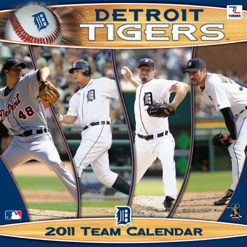 Detroit Tigers Team 2011 Calendar