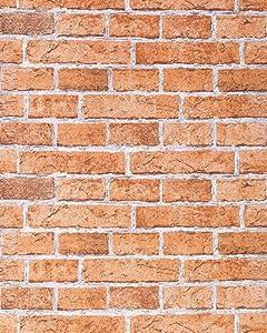 Edem 583 23 carta da parati muro di mattoni invecchiato for Carta da parati effetto mattoni