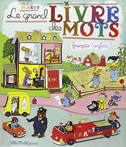 Le Grand Livre de Mots Francais / Anglais : Best Word Book Ever French / English (French Edition)
