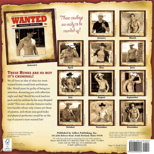 Wanted Hunks 2015 Calendar