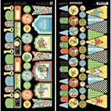 Graphic 45 Mother Goose Banners Card Stock Sheets