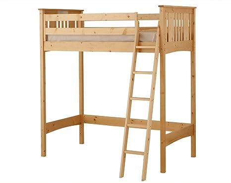 Canwood Base Camp Loft Bed, Natural