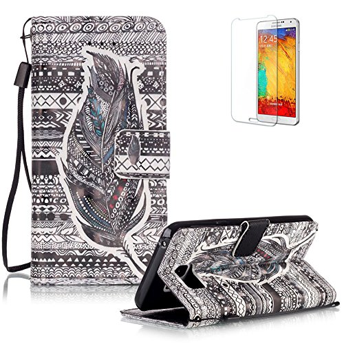 Samsung Galaxy Note 5 Portefeuille Magnétique Housse Coque,Samsung Galaxy Note 5 Lanyard Strap Coque Dragonne Carrying Portable Etui,Funyye Fashion