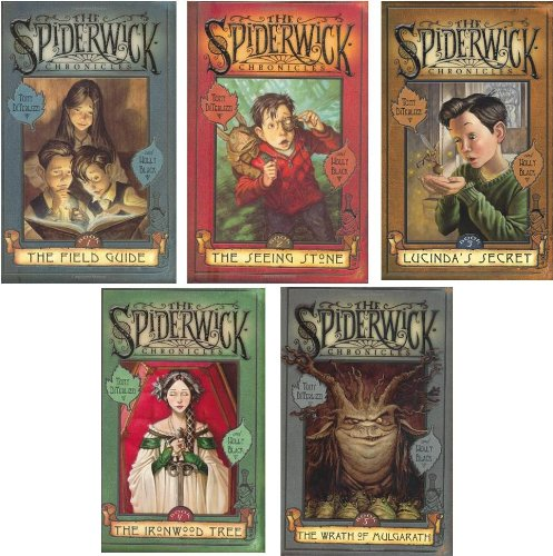 The Spiderwick Chronicles Series #1-5 (The Field Guide~The Seeing Stone~Lucinda's Secret~The Ironwood Tree~The Wrath of Mulgarath) (Spiderwick Chronicles Book 1 compare prices)