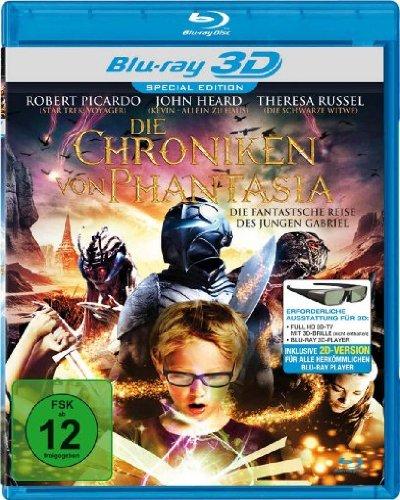 Die Chroniken von Phantasia [3D Blu-ray] [Special Edition]