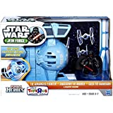Playskool Heroes, Star Wars, Jedi Force, Exclusive Tie Advanced Fighter with Darth Vader Figure