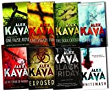 Alex Kava Alex Kava Collection A Maggie ODell Novel 8 Books Set Pack RRP: £55.92 (Alex Kava Collection) (Black Friday, A Perfect Evil, A Necessary Evil, Exposed, One False Move, Whitewash, The Soul Catcher, At the Stroke of Madness)