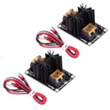 SODIAL 2 Pack Upgraded Heat Bed Power Module Expansion Hot Bed Mosfet MOS Tube for Extruder, Ramps, Anet A8/A6/A2, Makerbot MK8, RepRap, Mendel, Prusa i3, V6 3D Printer (Color: black)
