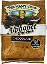 Newman39s Own Alphabet Cookies Chocolate 7-Ounce Bags Pack of 6