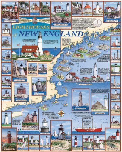 Cheap Fun White Mountain Puzzles Lighthouses of New England (B002XCIHU8)