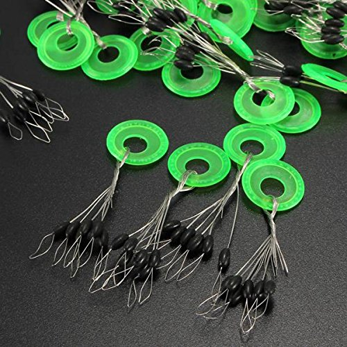 100pcs-Cylinder-Fishing-Stopper-Water-Floats-Bobbers-Sinker-Fishing-Tackle