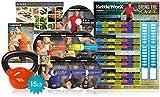 KettleWorX 2015 Rapid Evolution with 15 lb Kettlebell New 8 Week DVD Program