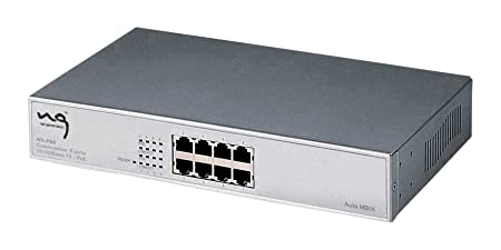 NG Office Commutateur 8 x Full PoE 10/100Base-TX ports