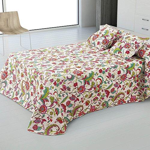 BUTI + 2 CUADRANTES 50X50 FLORENCIA 150 Cama 150 - 250x270 Color ESTAMPADO