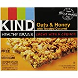 KIND Healthy Grains Bars Healthy Grains Bars - Oats & Honey with Toasted Coconut - 1.2 oz - 5 ct