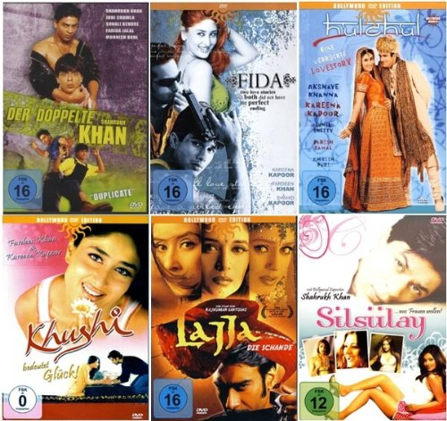 Best of Bollywood - Edition [6 DVDs]