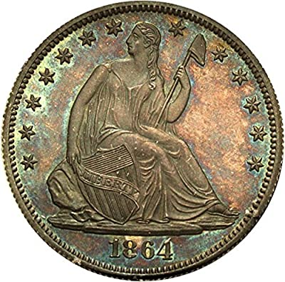 1864 P Pattern Coinage Pattern J-391 Dollar PR65 PCGS\CAC