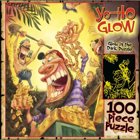 Yo-Ho Glow 100pc Jigsaw Puzzle by Ceaco