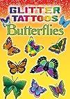 Dover Publications-Glitter Tattoos Butterflies