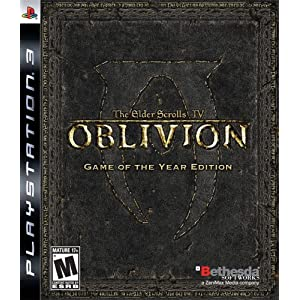 Oblivion Game of the Year Edition Video Game for PS3